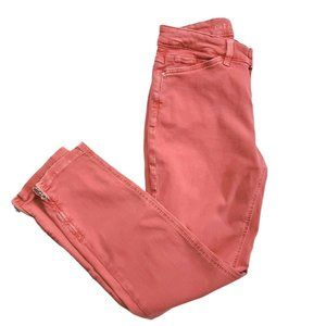 Dream Chic by Mac Jeans  Coral Stretch Jeans SZ 27